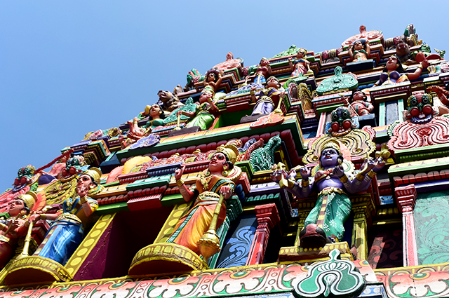Outside of Sri Durgai Amman temple