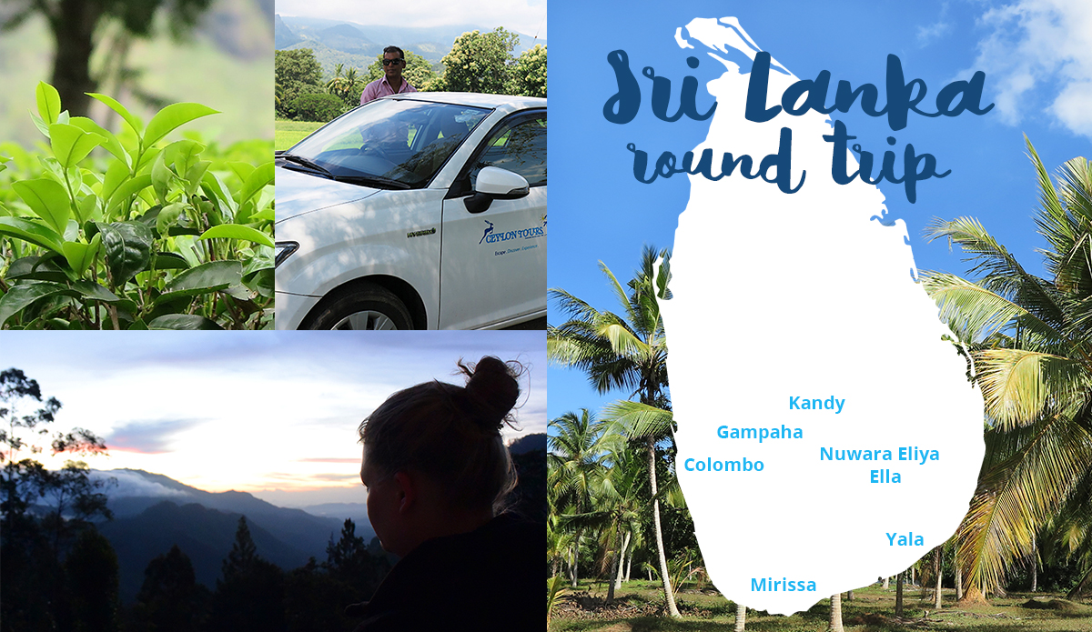Our Sri Lanka Round Trip  With Ceylon Tours