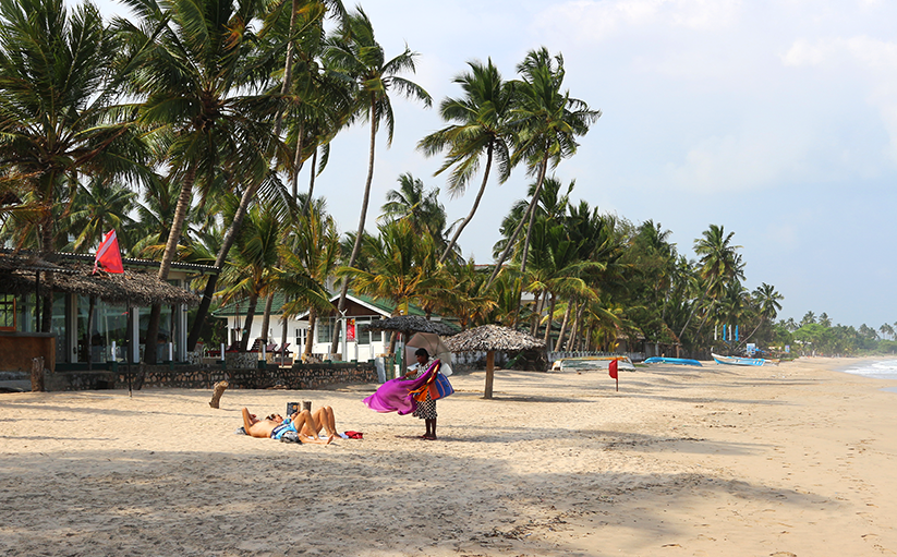 Uppuveli beach-life at Sri Lanka's East coast