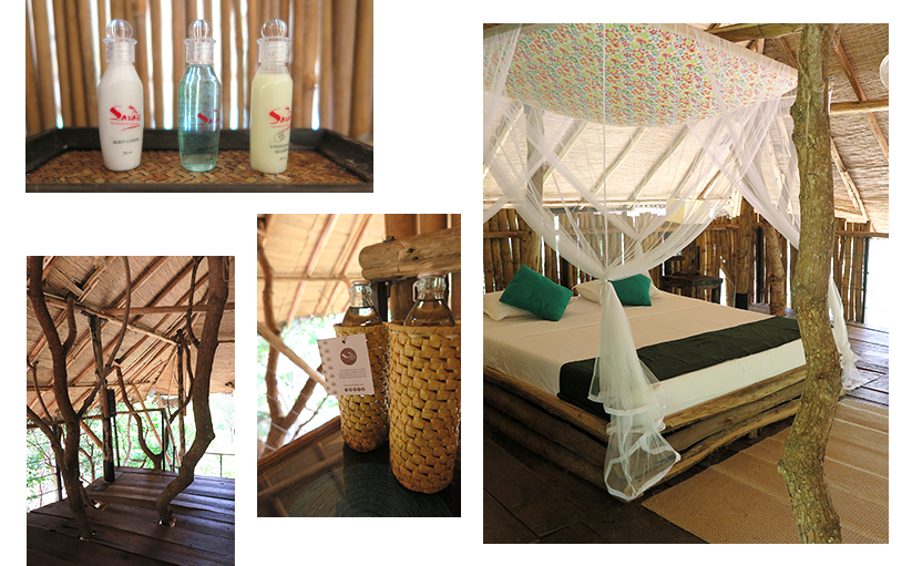 Treehouse suite at Saraii Village eco hotel Sri Lanka