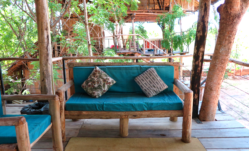 Treehouse suite, Saraii Village eco hotel Sri Lanka